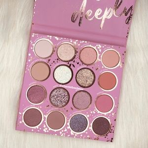 "Colourpop ""truly madly deeply"" palette"